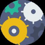 Icono mantenimiento, actualizaciones y seguridad de las páginas web.