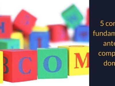Consejos para comprar un dominio