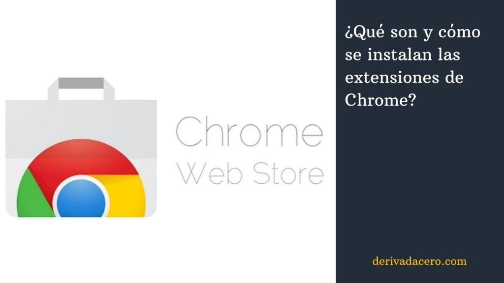 Instalar extensiones de Chrome