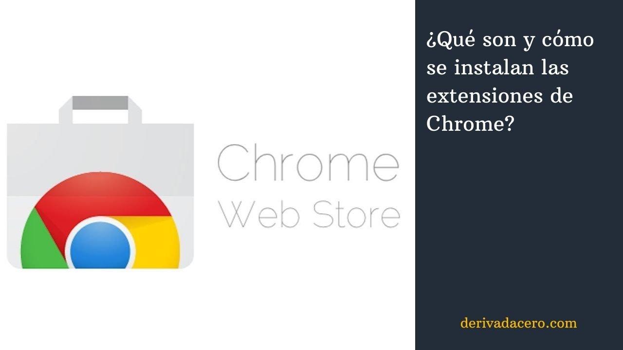 Instalar extensiones de Chrome