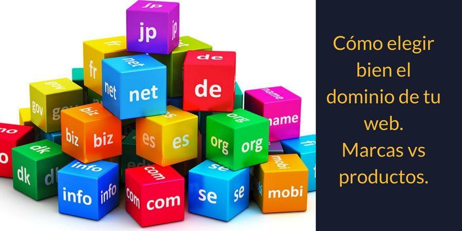 Cómo elegir bien el dominio de tu web.