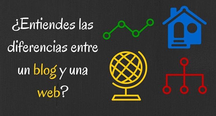 Diferencias entre un blog y una web