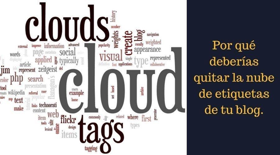 Las nubes de etiquetas no funcionan en casi ningún proyecto.
