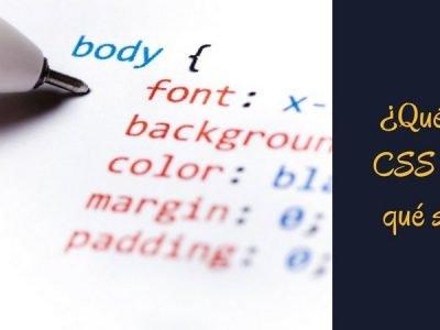 Qué es el CSS y para qué sirve