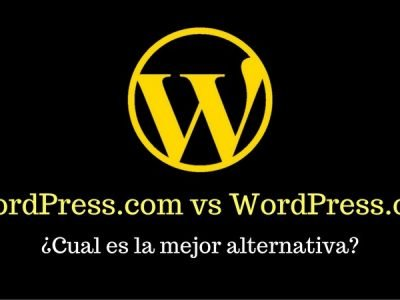 WordPress.com y WordPress.org
