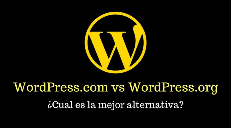 WordPress.com y WordPress.org
